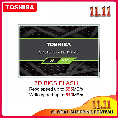 100% TOSHIBA Solid State Drive | Internal Disk for PC Laptop