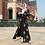 Thumbnail: Dubai Open Abaya Kimono Muslim Hijab Dress Kaftan Abayas Islamic Clothing