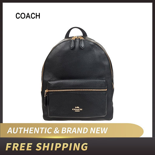 Coach  Medium Charlie Backpack in Pebble Leather