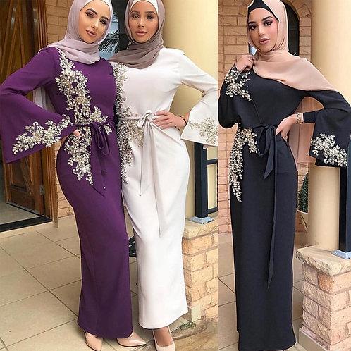Abaya Dubai Turkey Muslim Hijab Dress Kaftan American Islamic Clothing Abayas