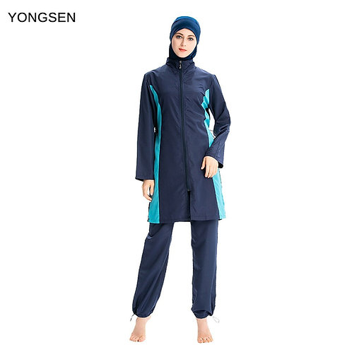 2020 Plus Size Burkinis Muslim Swimwear Sport Clothing Full Cover Burkinis