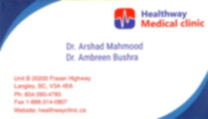 Dr. Arshad Mahmood, Dr. Ambreen Bushra