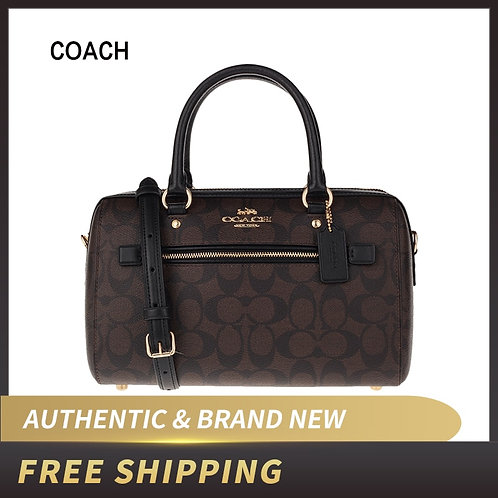 Authentic Original & Brand New Coach F83607/F84722 Signature Rowan Satchel Bag