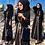 Thumbnail: Dubai Abaya Kimono Cardigan Hijab Muslim Dress Kaftan Islamic