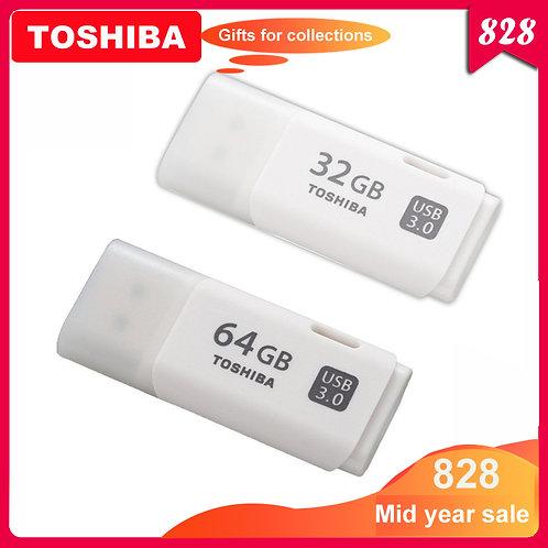 100% Original TOSHIBA U301 USB 3.0 Flash Drive 64GB 32GB Pen Drive