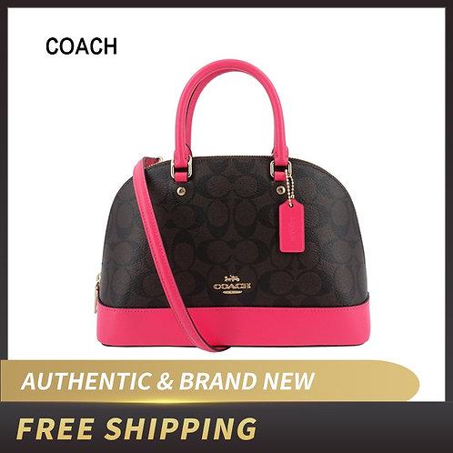 Coach Ladies Shoulder Inclined Shoulder Handbag Mini Sierra Satchel Purse