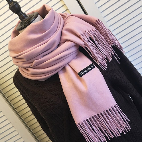 Cashmere Scarves With Tassel Lady Winter Autumn Long Scarf Thinker Warm