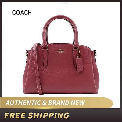 Authentic Original & Brand New  Coach Mini Sage Leather Satchel Crossbody Bag