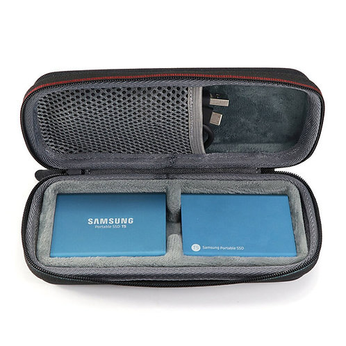 2 in 1 Carrying Case for Samsung T5 T3 T1 Portable 250GB 500GB 1TB 2TB SSD