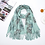 Thumbnail: Women  Pashmina  Scarf Flower  Blanket  Luxury Scarf  Cashmere Silk