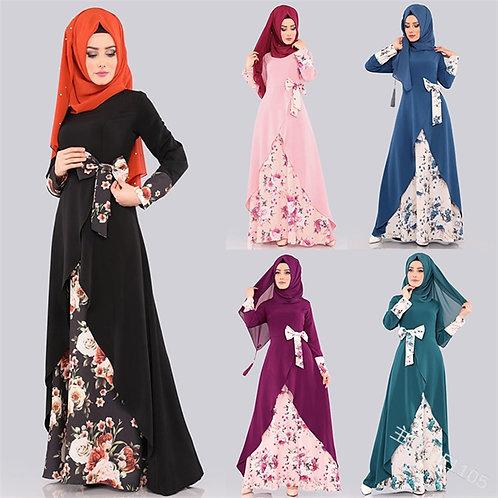 Abaya Dubai Hijab Muslim Dress Caftan Marocain Turkish Dresses Kaftan Abayas