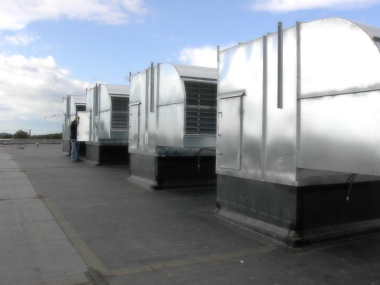 benedict metal works, benedict metal works inc, sheet metal, rooftop fan enclosures