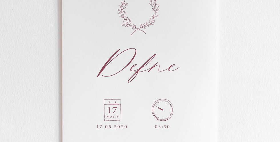 Grace Doğum Posteri