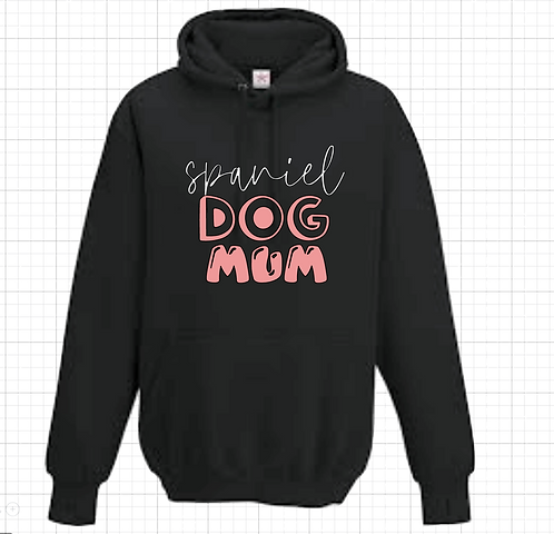 Dog Breed Dog Mum Hoodie