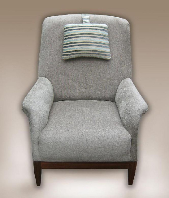 Traditional comfort chair - designed and made for a private client