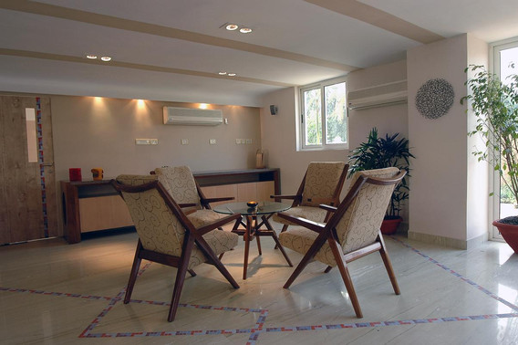 Sitting arrangement at City Center Residents' lounge