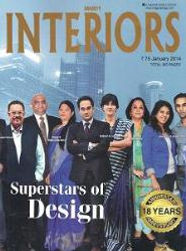 Society Interiors' cover story on Super Stars of design featuring Devika Banerjee