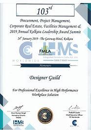 DG Design Award 2019