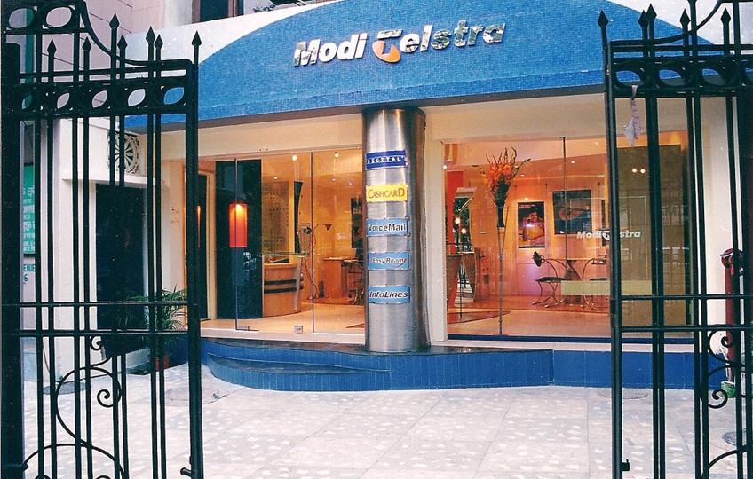 Modi Testra first showroom on Rashbehari Avenue