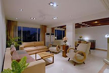 Living Room at Tata Motors' guest house