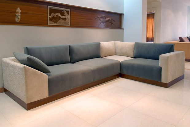 Sofa made for Tata Motors' Guest House