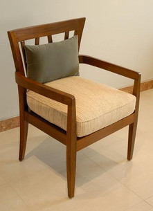Custom made chairs in old burma teak