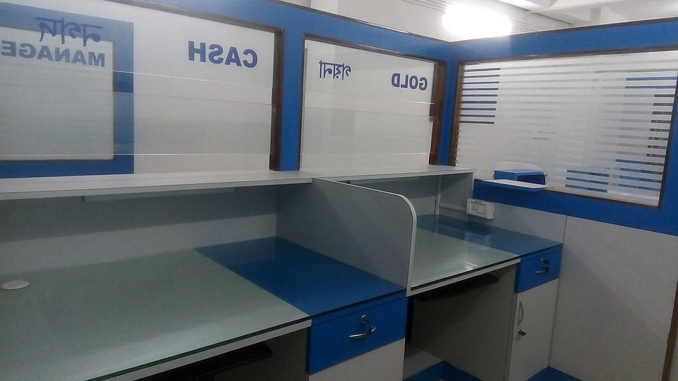 Muthoot high counter inside