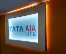 Tata AIA signage