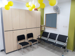 Tata AIA storage, seating