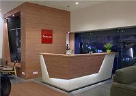 Featherlite furniture showroom