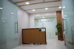 Novartis reception