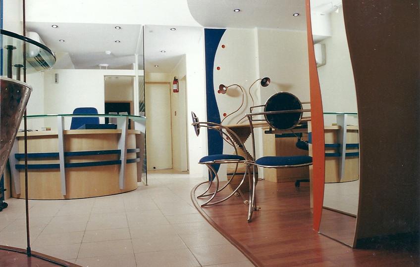 Cash desk at Modi Telstra showroom
