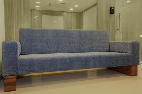 Sofa made for Nippon Steel office