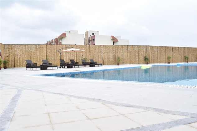 The pool at Odyssey