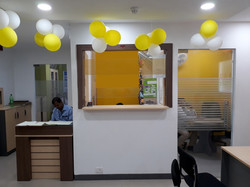 Tata AIA cash counter