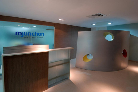 Reception at MJunction