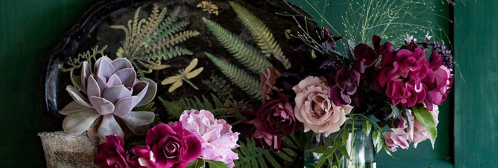 FINE ART PRINT: 'Summer Roses'