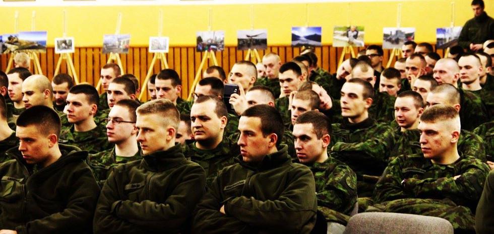 SIN at war base 'Rukla'
