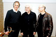 Foto mit Markus Stockhausen, Holger Mantey, Berndt Petroschka