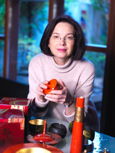 Nathalie Rolland Huckel portrait.