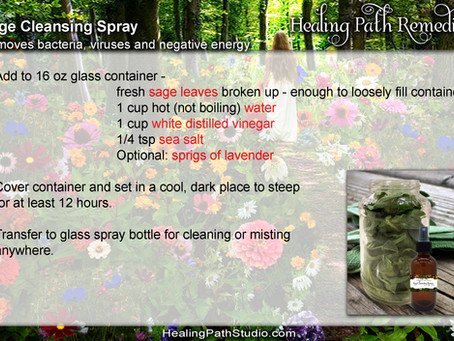 Alternative to Smudging
