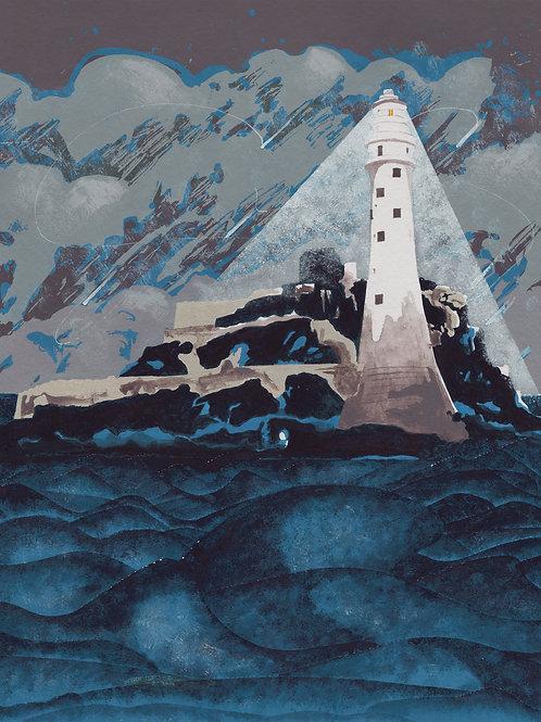 'Fastnet Rock, Ireland' Limited Edition Giclee Print 30cm x 40cm