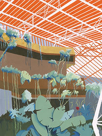 Barbican Conservatory - Limited Edition Archival Print - Rian Hotton