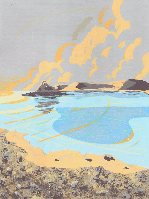 'Bryher, Isles of Scilly' Limited Edition Giclee Print  30cm x 40cm