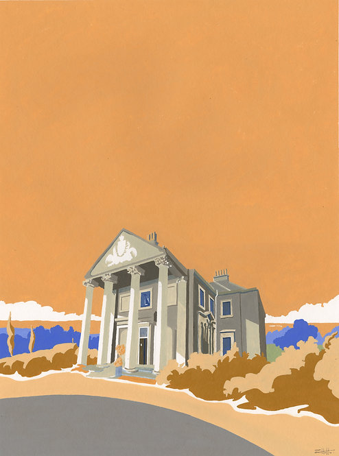 'Beckenham Place Mansion' Limited Edition Giclee Print 30cm x 40cm
