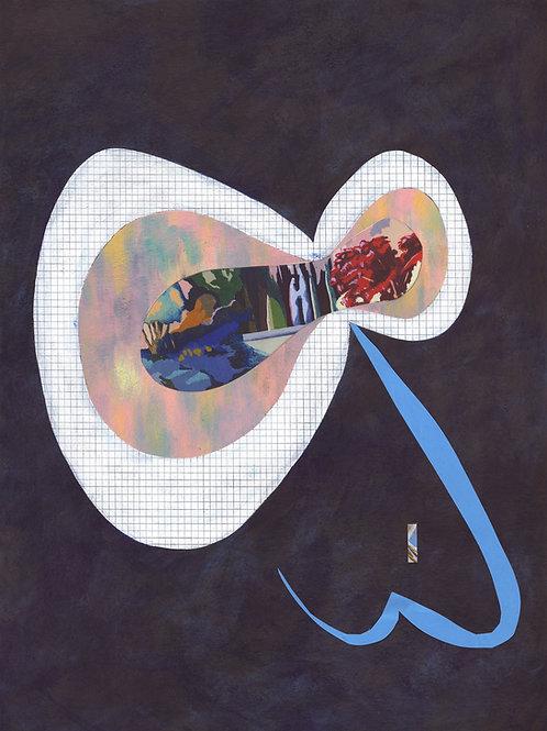'Phosphene' Limited Edition Giclee Print 40.5cm x 54.5cm