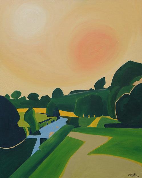 'River Rye' Limited Edition Giclee Print 40.5cm x 50.5cm