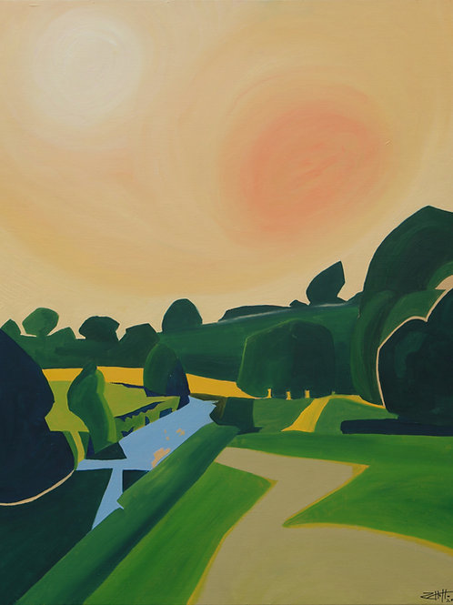 'River Rye' Limited Edition Giclee Print 40.5cm x 50.5cm