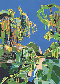 Belairi - Buy original acrylic painting - Rian Hotton - 2021