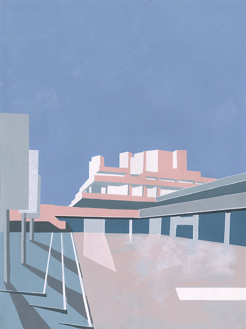 'National Theatre' Limited Edition Giclee Print 30cm x 40cm